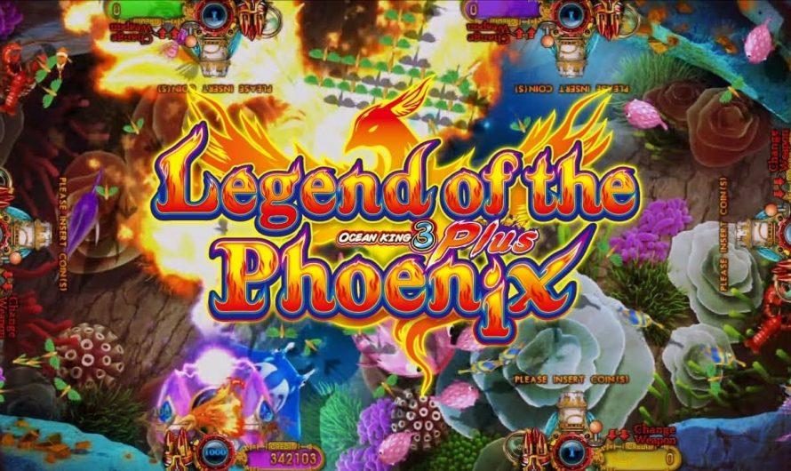 เกมยิงปลา LEGEND OF THE PHOENIX ได้เงินจริง