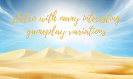 slotxo กับรูปแบบต่างๆในการเล่นเกมที่น่าสนใจ