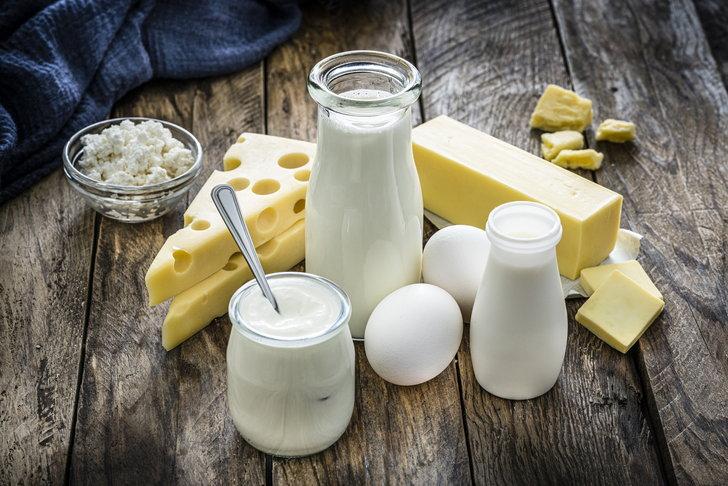 อาหารที่มีส่วนผสมของนม